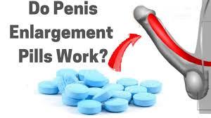 blaue Pillen und ein Penis